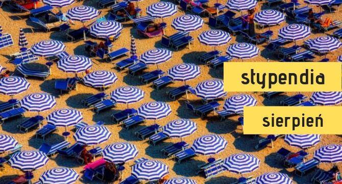 sierpniowe stypendia dla studentów