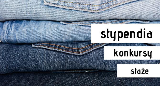 zdjęcie jeansów ilustrujące artykuł Stypendia, konkursy, staże na wiosnę2