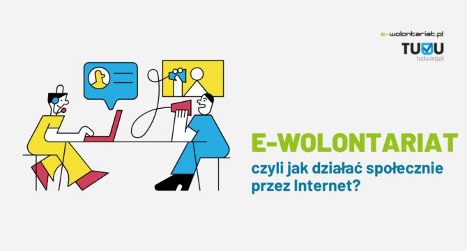 Grafika do artykułu e-wolontariat