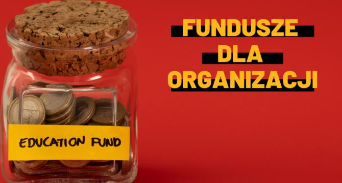 Fundusze dla organizacji grafika ze skarbonką do artykułu