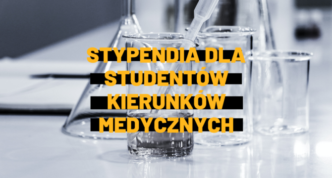 stypendia dla studentow medycyny i pielegniarstwa